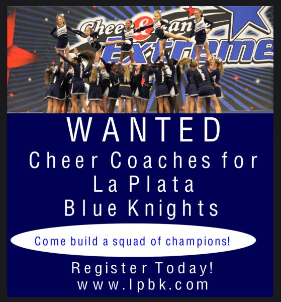 WANTED: Cheer Coaches for 2021