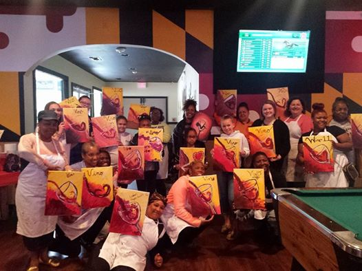 Sip & Paint Night with LPBK